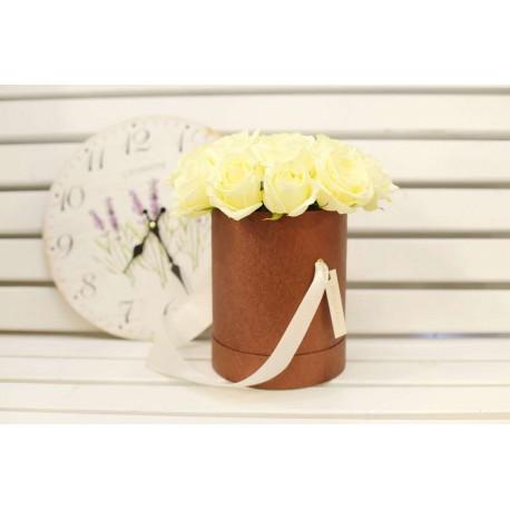 цветы в шляпной коробке №1
